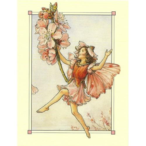 Postal Antigo Importado The Almond Blossom Fairy - Cicely
