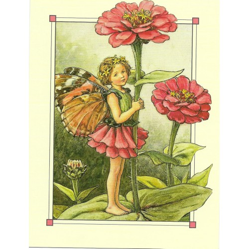 Postal Antigo Importado The Zinia Fairy - Cicely
