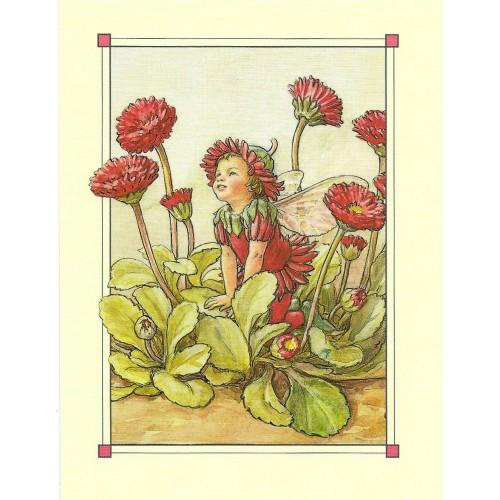 Postal Antigo Importado The Double Daisy Fairy - Cicely