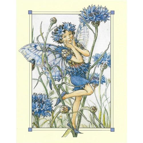 Postal Antigo Importado The Cornflower Fairy - Cicely