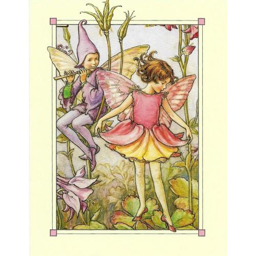 Postal Antigo Importado The Columbine Fairy - Cicely