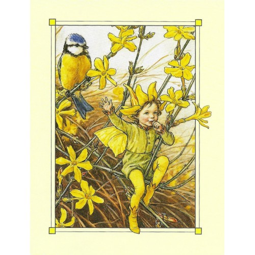 Postal Antigo Importado The Winter Jasmine Fairy - Cicely