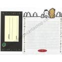 Conjunto de Papel de Carta Antigo (Vintage) Pinny-Mu Snow San-X