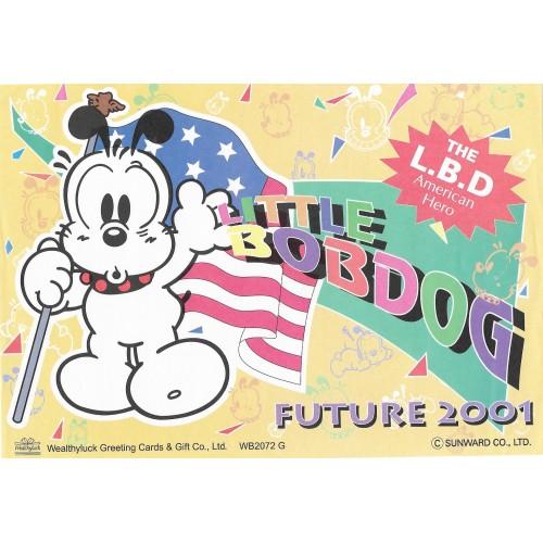 Papel de Carta AVULSO Antigo (Vintage) Little Bobdog American Hero Wealthyluck Sunward