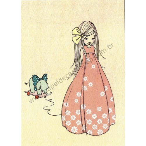 Cartão Postal I Like Your Bow - Belle & Boo