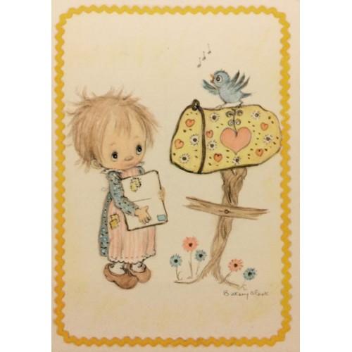 Cartão Postal ANTIGO Betsey Clark - P5
