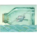 Postalete Antigo Importado Fish - Hallmark