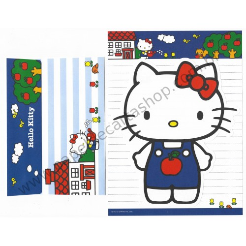 Ano 2013. Kit 2 Conjuntos de Papel de Carta Hello Kitty DC CVM Sanrio