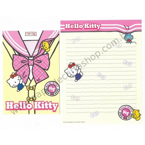 Ano 2012. Kit 2 Conjuntos de Papel de Carta Hello Kitty HK1 Sanrio
