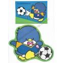 Ano 1986. Conjunto de Papel de Carta Tuxedosam Soccer Vintage Sanrio
