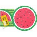 Ano 1993. Conjunto de Papel de Carta Watermelon Vintage Sanrio