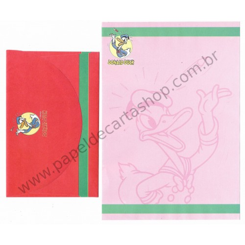 Conjunto de Papel de Carta ANTIGO Personagens Disney Minnie CRS