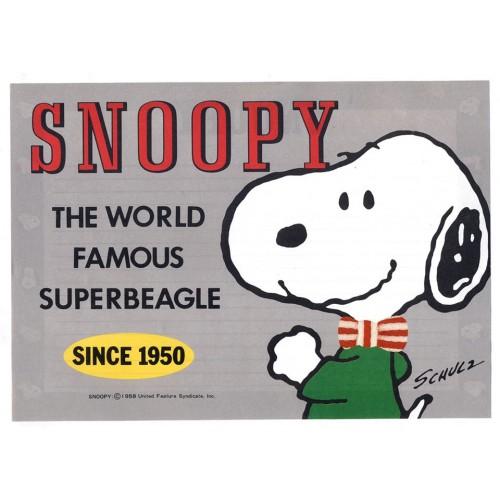 Papel de Carta Avulso Snoopy Since 1950 Antigo (Vintage) - Peanuts