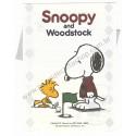 Conjunto de Papel de Carta Snoopy & Woodstock Golf Antigo (Vintage) Hallmark