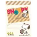 Conjunto de Papel de Carta Snoopy Tennis Antigo (Vintage) Hallmark