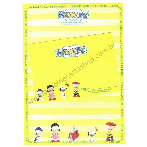 Conjunto de Papel de Carta Snoopy RM