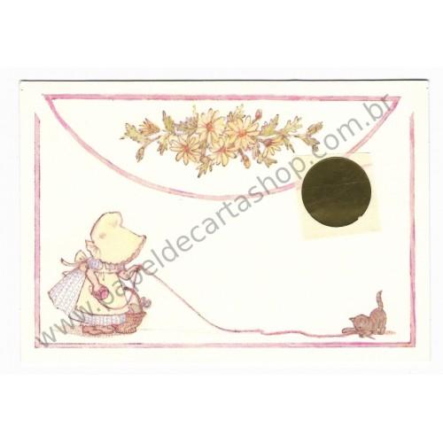 Postalete Antigo Importado Sun Bonnet - Hallmark