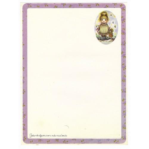 Papel de Carta Coleção Gisele (QRX) - G