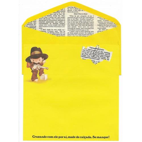 Conjunto de Papel de Carta Coleção Os Intocáveis Bandidinho CJN