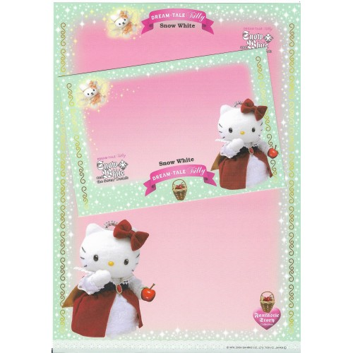Ano 2004. Coleção DREAM TALE Kitty Red - Sanrio
