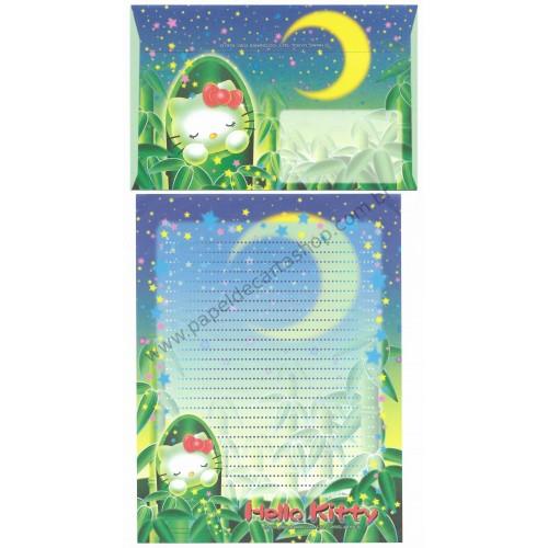 Ano 2004. Conjunto de Papel de Carta Gotōchi Kitty Moon Sanrio