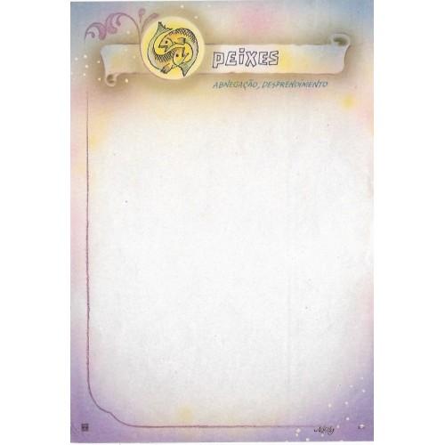 Papel de Carta Antigo Nelly 5126