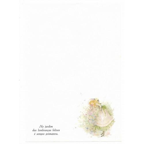 Papel de Carta Antigo Coleção Primavera 01M