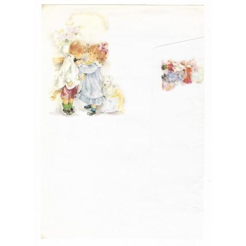 Conjunto de Papel de Carta Antigo Coleção Doçura 05G
