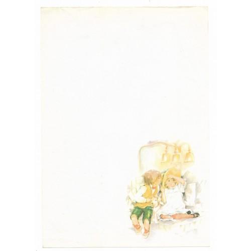Papel de Carta Antigo Coleção Doçura 03M
