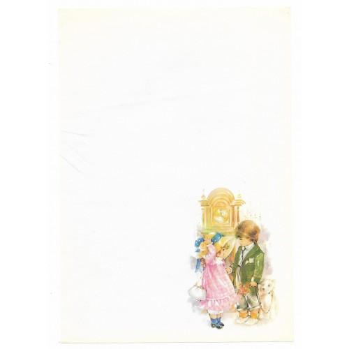 Papel de Carta Antigo Coleção Doçura 06M