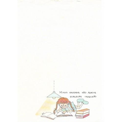 Papel de Carta Coleção BIA A01