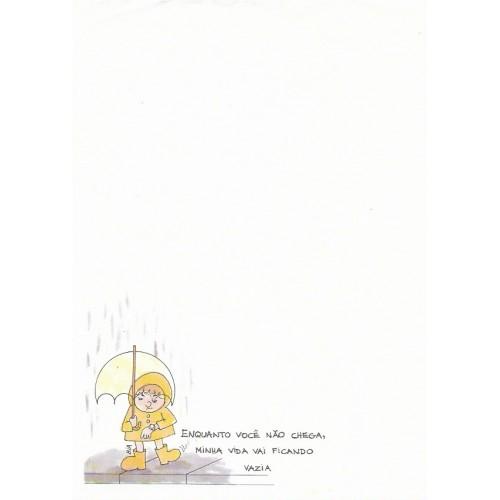 Papel de Carta Coleção BIA A02