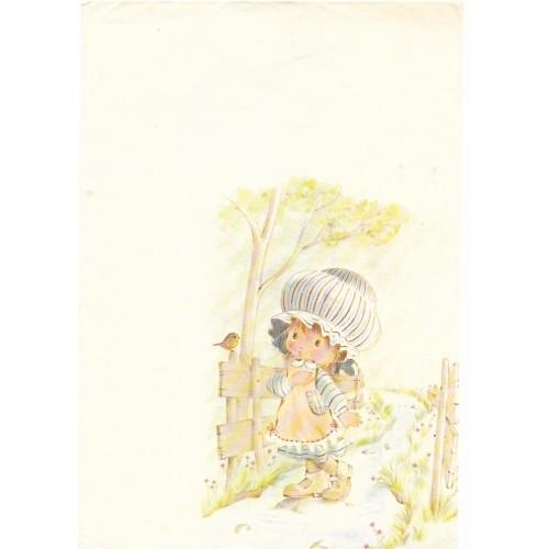 Papel de Carta Antigo AMBROSIANA - Bonnie Bonnets