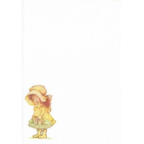 Papel de Carta Antigo SPACK Menininhas 45 Kim Tania