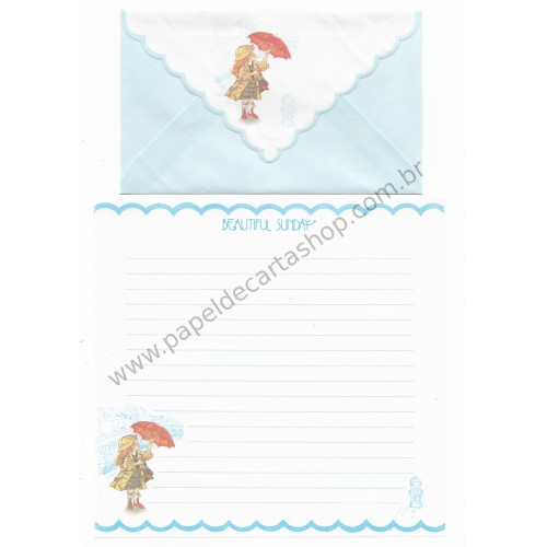 Conjunto de Papel de Carta Beautiful Sunday 02 CAZ