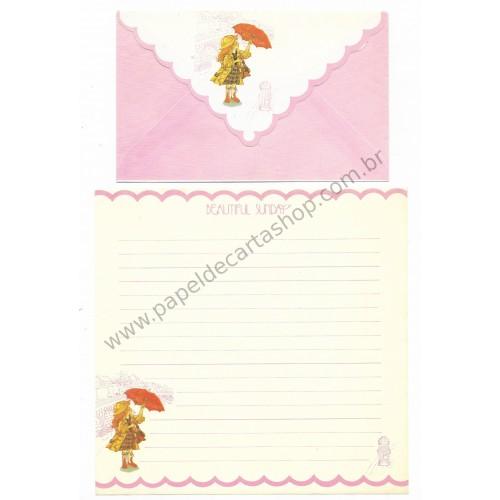 Conjunto de Papel de Carta Beautiful Sunday 03 CRS