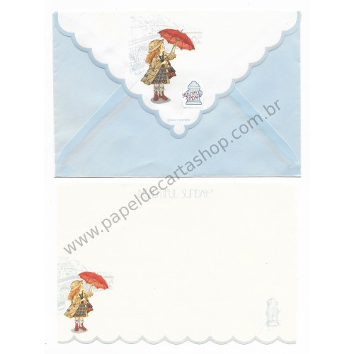 Conjunto de Papel de Carta Beautiful Sunday 04 P CAZ