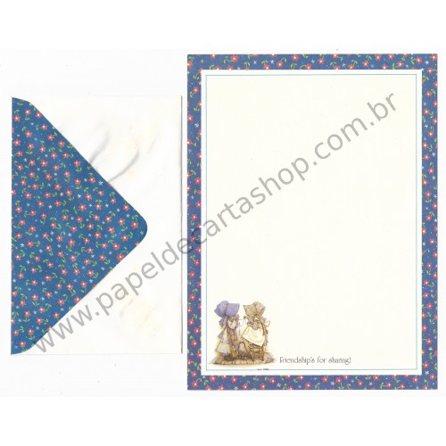 Conjunto de Papel de Carta Holly Hobbie M78