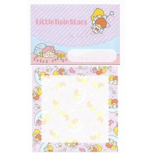 Ano 2014. Conjunto de Papel de Carta Little Twin Stars Sanrio