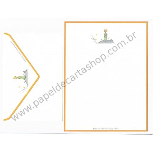 Conjunto de Papel de Carta Importado Le Petit Prince LPP612 CAM