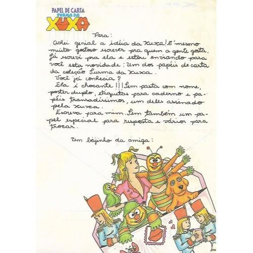 Papel de Carta Turma da Xuxa 01