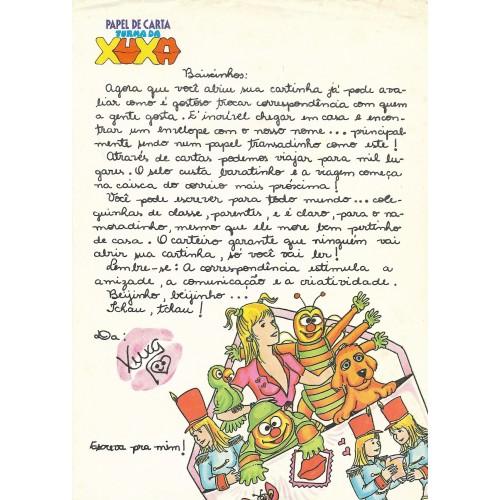Papel de Carta Turma da Xuxa 2