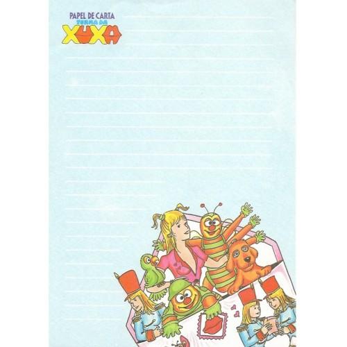 Papel de Carta Turma da Xuxa 10