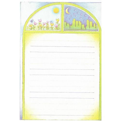 Papel de Carta Antigo Coleçao Eliana 11