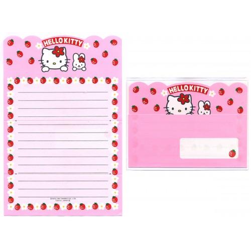 Ano 1997. Conjunto de Papel de Carta Hello Kitty5 Antigo (Vintage) Sanrio