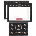 Ano 1999. Conjunto de Papel de Carta Hello Kitty Colors CBL Antigo (Vintage) Sanrio