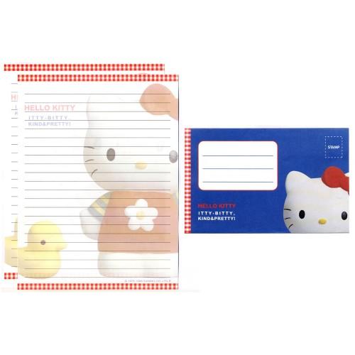Ano 1998. Conjunto de Papel de Carta Hello Kitty Itty-Bitty2 Antigo (Vintage) Sanrio