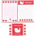 Ano 1998. Conjunto de Papel de Carta Hello Kitty Bloom1 Antigo (Vintage) Sanrio