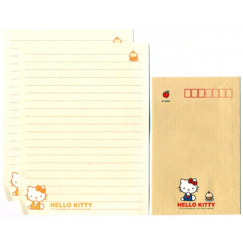 Ano 1999. Conjunto de Papel de Carta Hello Kitty CLA Antigo (Vintage) Sanrio