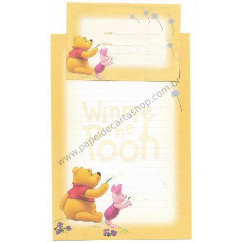 Conjunto de Papel de Carta Antigo VINTAGE Disney F1 - POOH (AM)